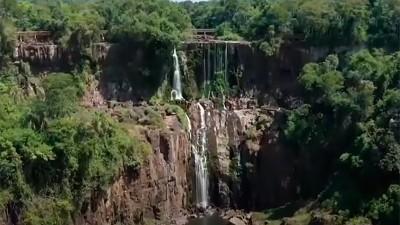 Alerta por los ríos,  las Cataratas casi secas y no crece el caudal del Paraná