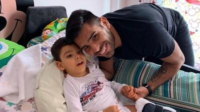 Silvio Romero,  Cambiaría todos mis logros por la salud de mi hijo