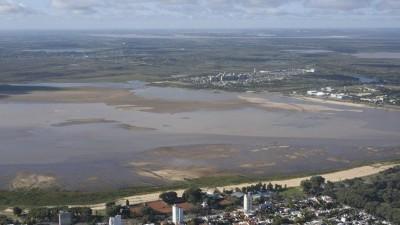 El río Paraná sigue bajando y en el puerto local llegó a 0,19 metros