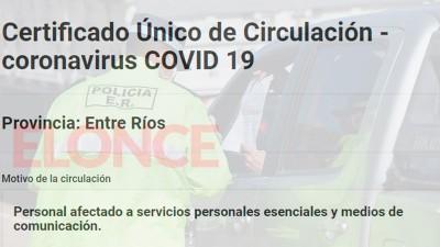 Certificado para circular: Quiénes y cómo deben tramitar la nueva constancia