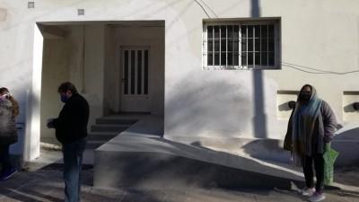 Continúan las obras en el edificio municipal sobre 1º de mayo y Urquiza