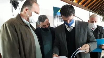Se firmó convenio para la ejecución de obras