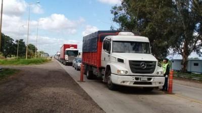 El camionero con Covid-19 que pasó por Entre Ríos está en terapia intensiva