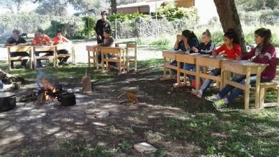 Algunas escuelas rurales se preparan para volver a las clases presenciales