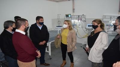 La provincia entregó un respirador al Hospital San José