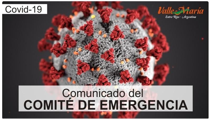 Comunicado del Comité de Emergencia 26-06
