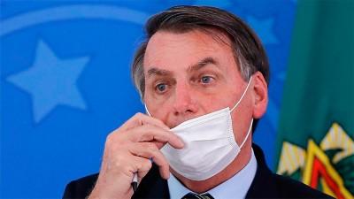 Gran expectativa en Brasil para saber si Bolsonaro tiene coronavirus