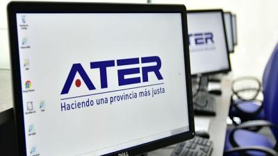 ATER ya habilitó más de 40 servicios online