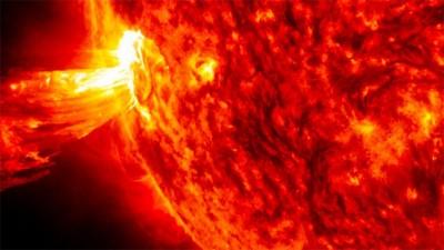 Una tormenta solar podría afectar a la Tierra