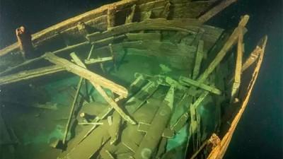 Misterio: hallan barco hundido hace 400 años en casi perfectas condiciones