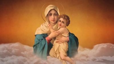 Madre, danos salud, salvación y esperanza