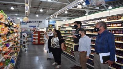 Se gestiona la comercialización de productos entrerrianos en cadenas de hipermercado