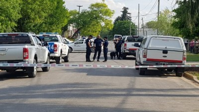 La Policía investiga la pista del narcotráfico en el triple crimen