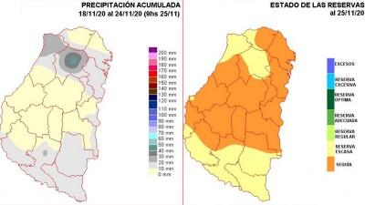 La sequía ganó terreno pero resurgen las esperanzas ante probables lluvias