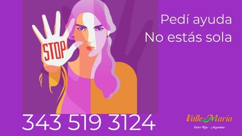 Violencia de género: línea local para consultas y denuncias