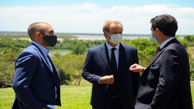 Guzmán sobre la renegociación de la deuda: Nación apoya absolutamente las gestiones de Entre Ríos