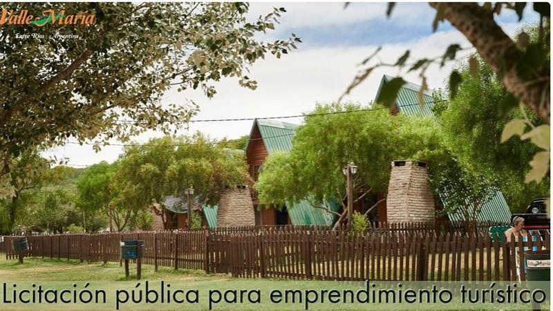 Licitación pública para emprendimiento turístico