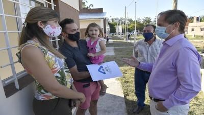 Bordet proyecta nuevos planes de viviendas para 2021 con fondos propios y de Nación