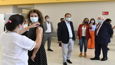 Entre Ríos se prepara para vacunar a las personas mayores de 70 años
