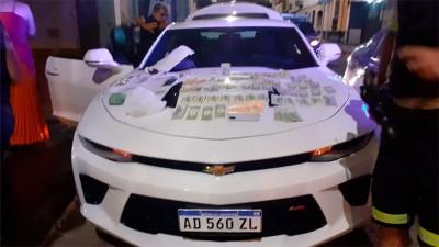 Detenidos en Chevrolet Camaro cometieron 35 estafas y recaudaron u$s 600 mil