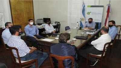 Autoridades de CET se reunieron con el Ministro Bahillo