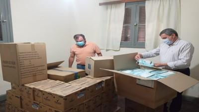 Se gestionó Material Sanitario ante la Cruz Roja Argentina para el Departamento Diamante