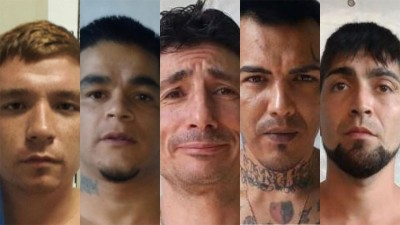 Alerta por fuga de presos en Santa Fe: quiénes son los cinco que siguen prófugos