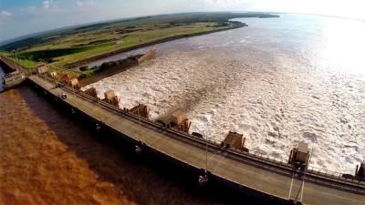 Yacyretá generó mucha menos energía por la bajante extrema del río Paran