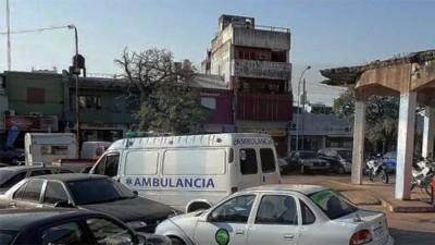 Secuestraron una ambulancia sin documentación que circulaba por Paraná