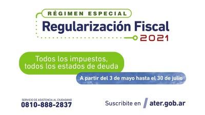 Últimos días para suscribir al Régimen de Regularizaciones 2021