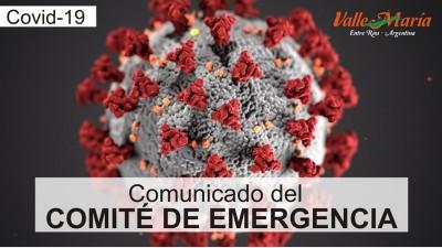 Comunicado del Comité de Emergencia
