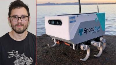 Con 300 dólares, entrerriano y otros jóvenes crearon robot que viajará a la luna