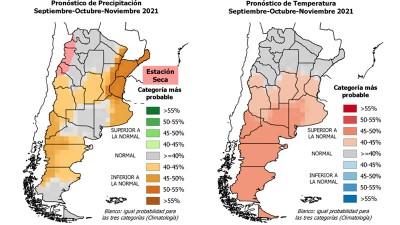Pronóstico trimestral: prevén una primavera más seca y calurosa que lo normal