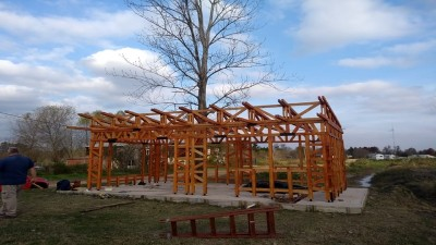 Un equipo del Conicet aporta al desarrollo de viviendas de madera en Entre Ríos