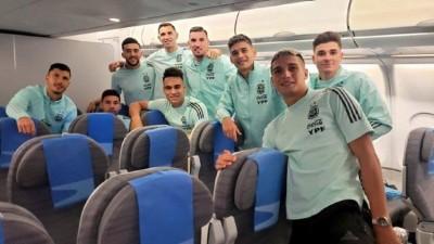 Tras el escándalo en Brasil, la Selección llegó al país
