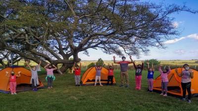 Estudiantes de la provincia disfrutan de las actividades del programa Entre Ríos Acampa