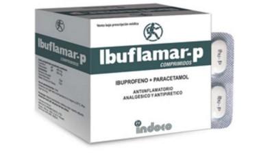 Prohibieron una marca de ibuprofeno con paracetamol por riesgo para la salud