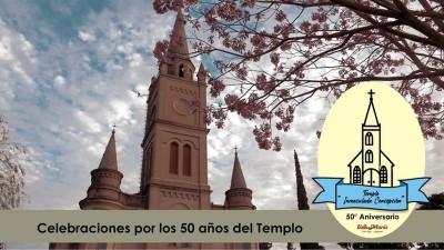 Celebraciones por los 50 años del Templo